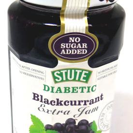 Stute Diabetic Blackcurrant Jam 6x340g