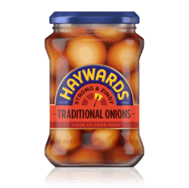 Hayward's Strong and Zingy Traditional Onions