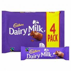 Cadbury Dairy Milk 4 Pack